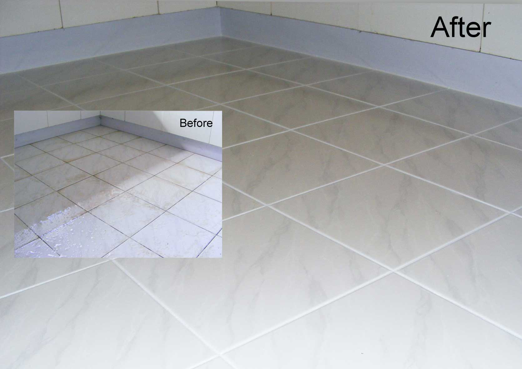 how to clean grout in shower australia