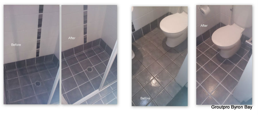 Before and After by Byron Bay GroutPro boys